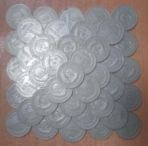3 pcs per lot. USSR. 1 ruble 1964, regular mint. Y# 134a.2