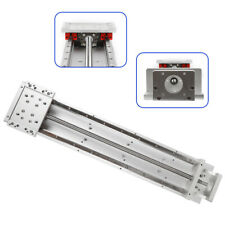 Cross Sliding Table Linear Actuator Stage Rail Ballscrew Slide L500mm Effective