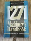 Machinery's Handbook 27th Edition