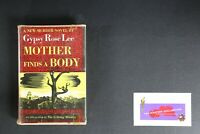💎GYPSY ROSE LEE MOTHER FINDS A BODY  HARDCOVER💎