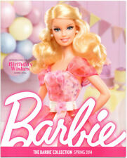 BARBIE COLLECTOR Catalog Collection Book Ad Magazine Birthday Wishes Spring 2014