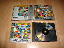 MICRO MACHINES MICROMACHINES V3 DE CODEMASTERS PARA LA SONY PS1 USADO COMPLETO