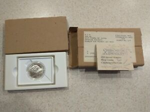 1995 Special Olympics World Games Commemorative Silver Dollar w/COA WEST POINT
