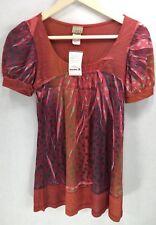DAYTRIP Women's Shirt Top Tunic Size-M BUCKLE -NWT