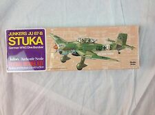 Guillow's Junkers JU 87-B Stuka German WW2 Dive Bomber Model Kit Airplane