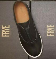 New FRYE slip on MINDY Black walking Leather shoes flats 6.5 7 7.5 8.5 9 9.5