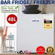 GLACIO 48L Portable Mini Bar Fridge Freezer Office Garage Refrigerator Cooler