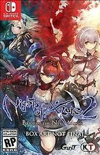 Nights of Azure 2: Bride of the New Moon (Nintendo Switch, 2017)