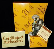 Nib Flambro Emmett Kelly Jr. The Thinker Limited Edition Figurine Ceramic Clown