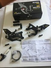 Triumph Daytona 675 Lightech Rearsets Racing Track Day Race, Boxed Motorcycle