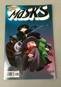 MASKS 1 JETPACK COMICS LARRYS COMICS EXCLUSIVE VARIANT Dynamite Comics HOT
