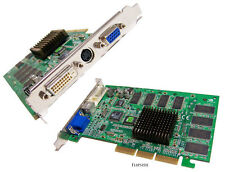 Nvidia GeForce2 Rev:1.0A 64MB MX400 AGP Card MS-8837 VGA-DVI-TV Out Video Card