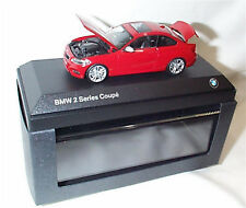 BMW 2 Series Coupe Melbourne Red Dealer model 1-43 Scale Opening Parts New