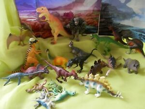 JOB LOT OF ASSORTED  DINOSAURS    PRESCHOOL/YOUNG CHILDS