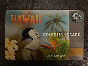 Starbucks Card USA Hawaii Nene Goose 2008 w/ Pin Intact
