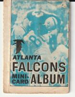 NFL Mini Card Album #1 - Atlanta Falcons - Topps 1969