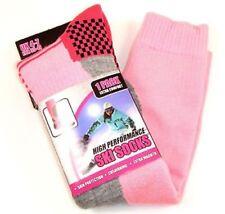 I-smalls Ladies Pack of 4 High Performance Long Hose Thermal Ski Sock 5060330550182