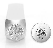 9.5mm Dandelion Flower Jewelry Metal Stamp Punch Jewellery Making Tools Stamping