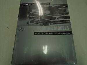 2002 Harley Davidson TOURING MODELS Service Shop Repair Workshop Manual NEW 2002