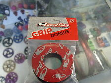 LIZARD SKINS RED BMX BICYCLE GRIP DONUTS