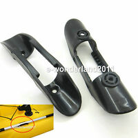 2 × INFLATABLE DINGHY KAYAK BOAT PADDLE CLIP STORAGE HOLDER WATERCRAFT ACCESSORY