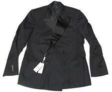 Double Ralph Lauren RRL Mens Italy Black Wool Slim Tux Blazer Sportcoat Jacket