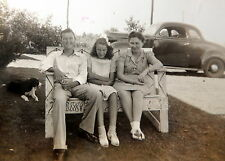12 Vintage Photographic Photo Images PICTURES OF FAMILY & AUTOMOBILES & BABIES
