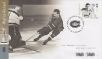 CANADA 2017 NHL HOCKEY LEGENDS -  MAURICE RICHARD FIRST DAY COVER