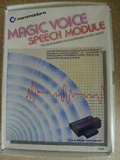 Commodore 64 Magic Voice Speech module (T6721A chip) Sprach synthesizer
