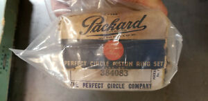 Packard Custom Made Perfect Circle Piston Ring Set #384083 NEW OLD STOCK NOS