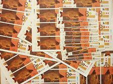 * SALE! * DRAGON CARP *Dealers Lot* 8x UNCUT SHEETS, 30x NOTES, SPECIMEN, China