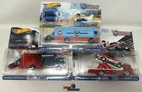 3 Car Set Team Transport Case K * 2021 Hot Wheels Lancia, GT-R & Cyclone