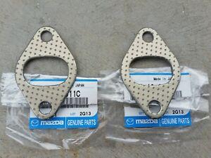 Mazda R100 10a Twin Dizzy Exhaust Gaskets NEW