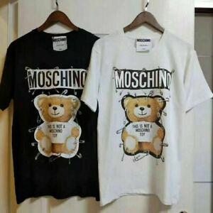 2021 New Men's Women's Universal Moschino C/O VIRGIL ABLOH Short Sleeve T-shirts