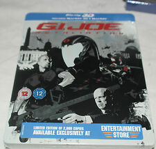 Bluray G.I Joe: Retaliation (Exclusive 2D & 3D Blu-Ray UK Steelbook) NEW