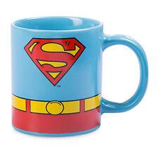 ***SUPERMAN COSTUME COFFEE MUG - DC COMICS - BRAND NEW***
