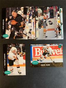 1991/92 Parkhurst Vancouver Canucks Team Set With Update 21 Cards