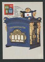 BUND MK 1983 825 BRIEFKASTEN MAXIMUMKARTE CARTE MAXIMUM CARD MC CM d2293