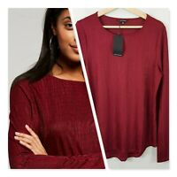 [ PORTMANS ] Womens Long Sleeve Top NEW + TAGS  | Size M or AU 12 / US 8