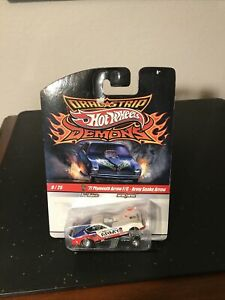 HOT WHEELS 2010 DRAG STRIP DEMONS SERIES 77 PLYMOUTH ARROW F/C ARMY SNAKE ARROW!