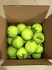 25 Used Tennis Balls - Good For Tennis, Walkers, Dog Toys - Free Shipping