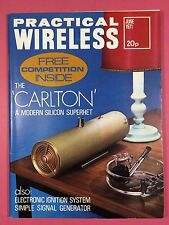 PRACTICAL WIRELESS - Magazine - JUNE 1971 - The CARLTON Modern Silicon Superhet
