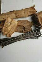 Vintage Classic Motorcycle 40 NICKEL Spokes NOS 10G AJS to Vincent
