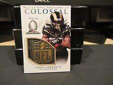 National Treasures Colossal Pro Bowl NFL Shield Rams Todd Gurley ll  1/1  2016