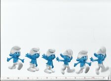 Smurfs Fabric Iron On Appliques  ( style #1) SO CUTE!!!!!!!