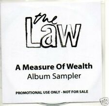 (170Q) The Law, A Measure of Wealth sampler - DJ CD
