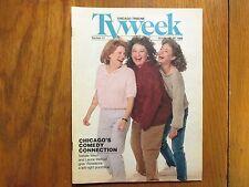 Oct. 23-1988 Chicago Tribune TV Week (ROSEANNE BARR/LAURIE METCALF/NATALIE WEST)