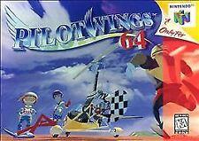 PILOTWINGS 64 N64 NINTENDO 64 GAME COSMETIC WEAR