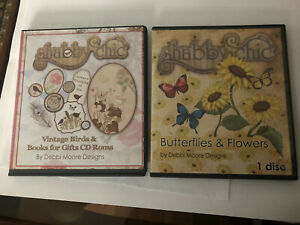 Craft Card Making Cds By Debbie Moore Designs Three Cds