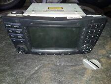 Mercedes A2118704789 Cls Head Command Sat Nav Unit